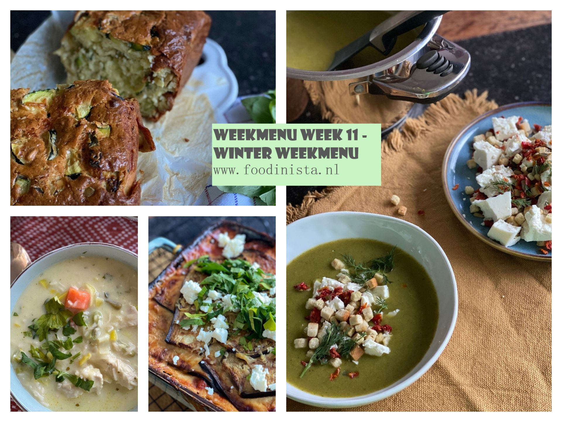 Winter Weekmenu Week 11 Foodblog Foodinista