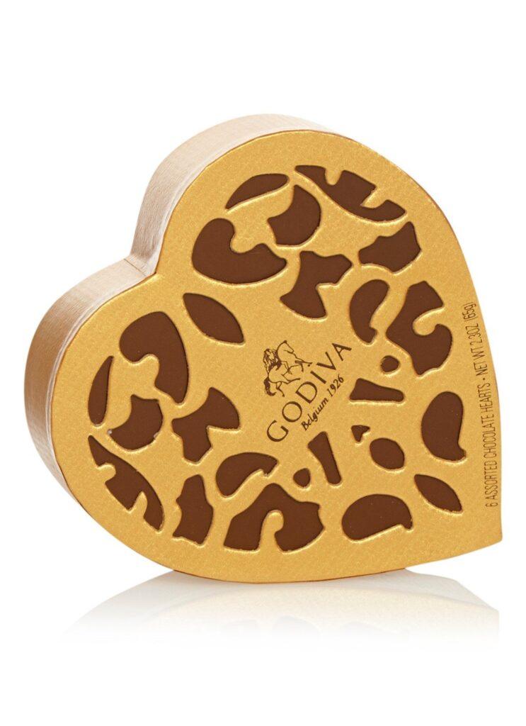 Hart cadeau box met chocolade - Moederdag cadeau box voor Moederdag
