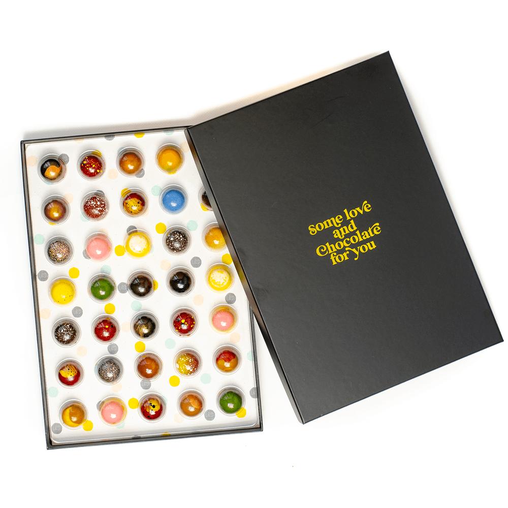 Zelf favoriete chocolade box samenstellen - chocoalde cadeautjes tips
