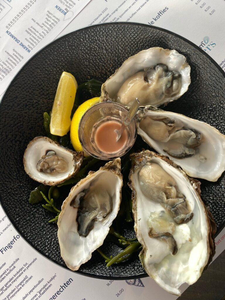 Oester proeverij bij Seafarm - Lekker eten en drinken in Kamperland Zeeland