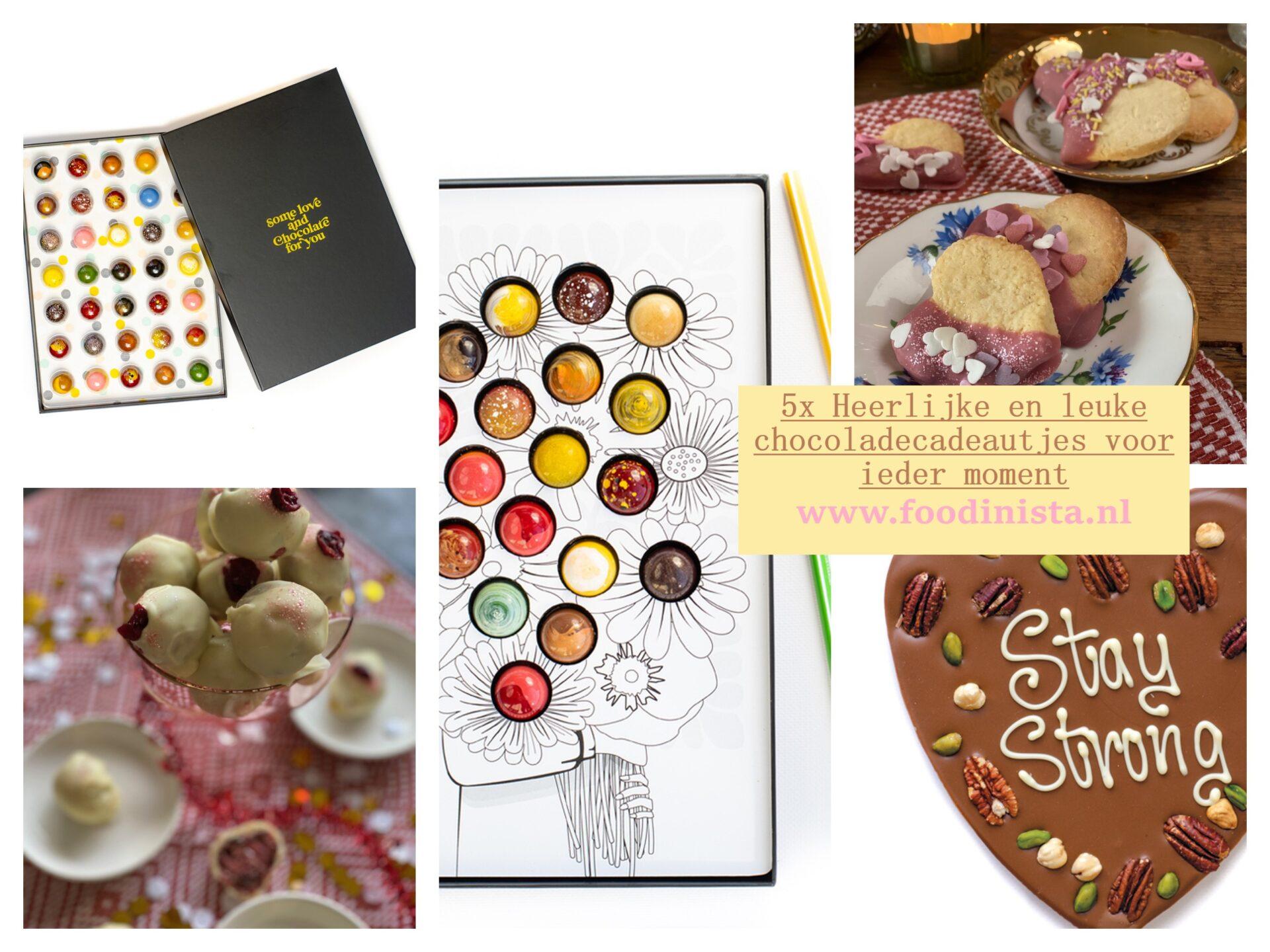 Voor ieder moment een chocolade cadeau - Foodblog Foodinista cadeautjes tips
