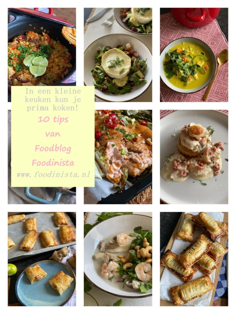 In een kleine keuken kun je prima koken met deze ideeën + 10 recepten