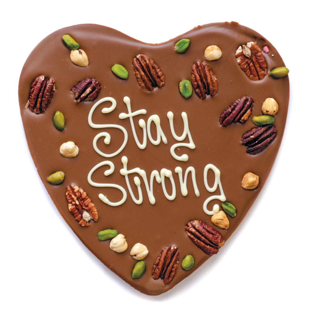 Stay Strong chocolade - Conrona cadeautjes tips - Foodblog Foodinista