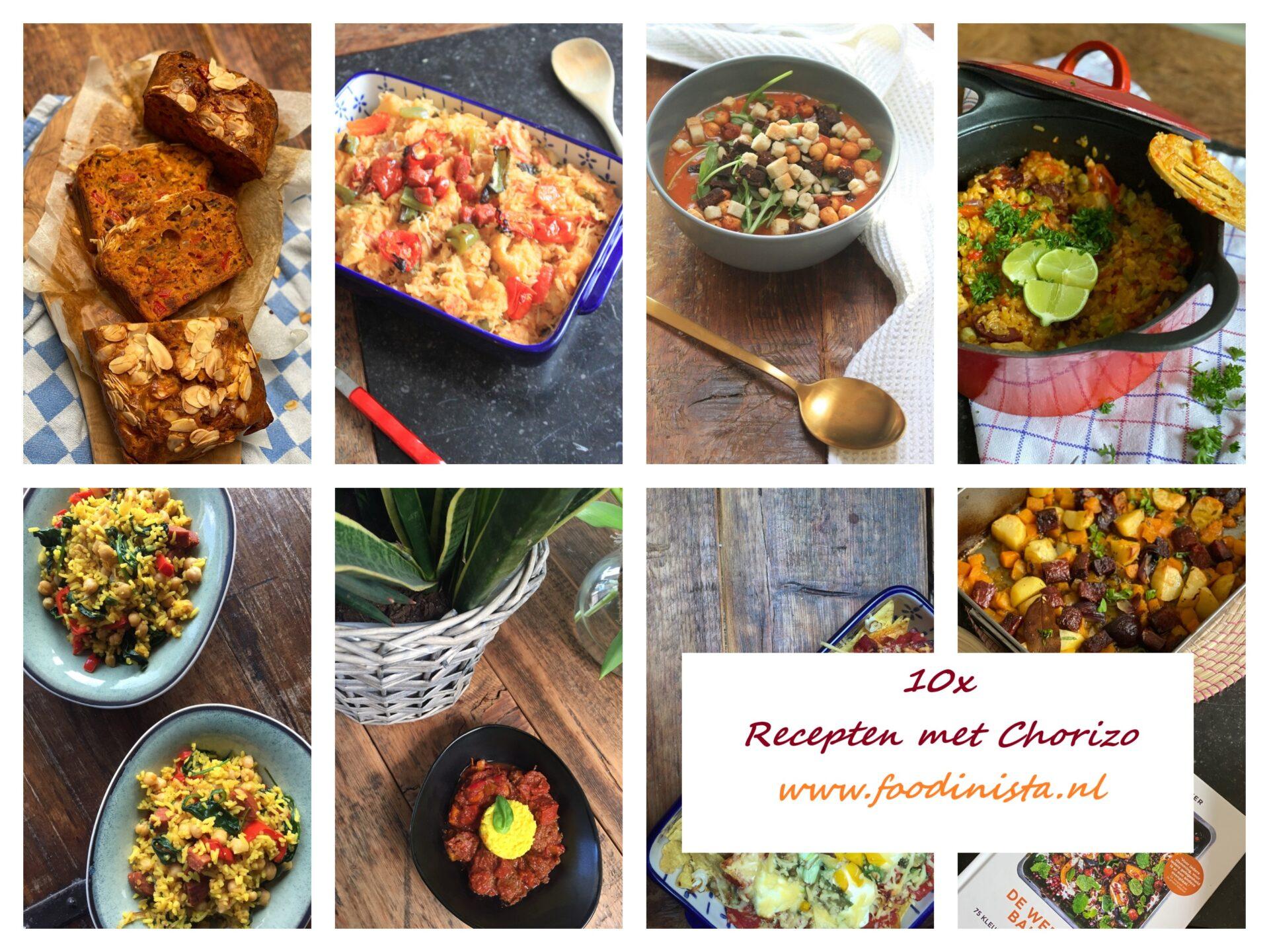 10x Recepten met chorizo