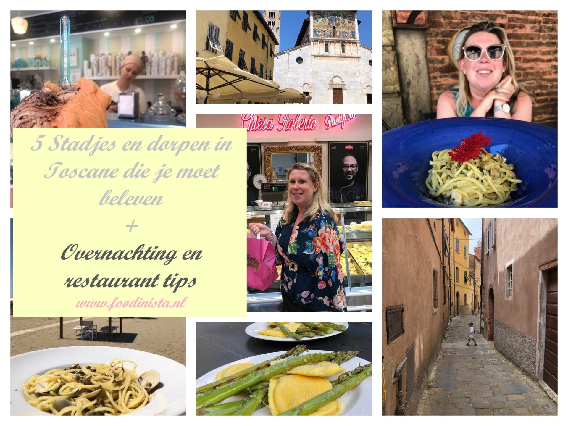 5 Stadjes en dorpjes in Toscane die je moet zien! + Overnachting tips