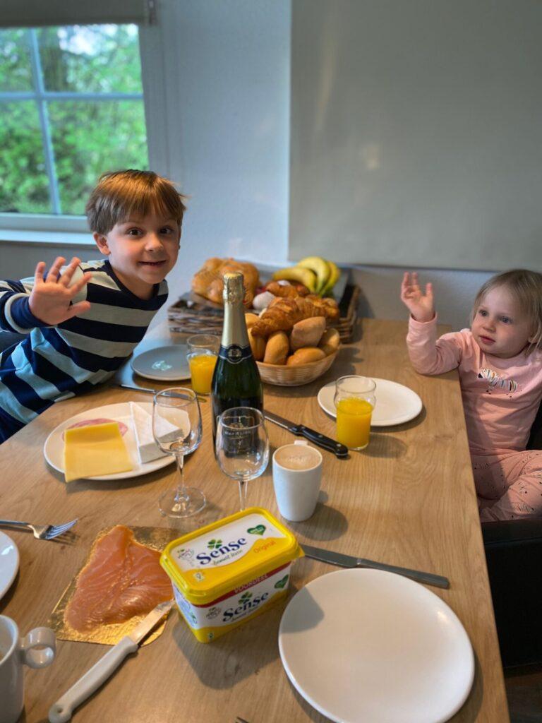 Vakantie tips in Drenthe - Ontbijten in je huisje