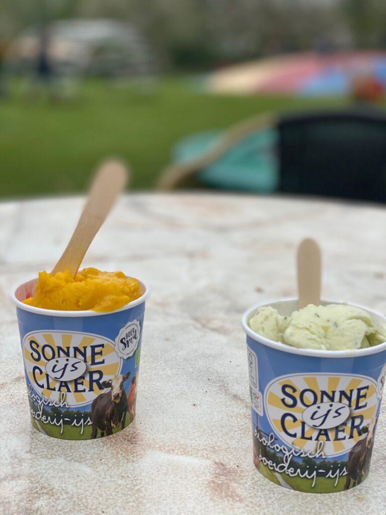 Sonneclaer boerenijs bij de Boerderij Sonneclaer - Leuke tips in Drenthe