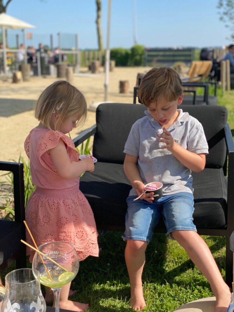 Eten en drinken met kinderen bij De Baeckermat in Zeeuws Vlaanderen - Restaurant tips in Zeeland
