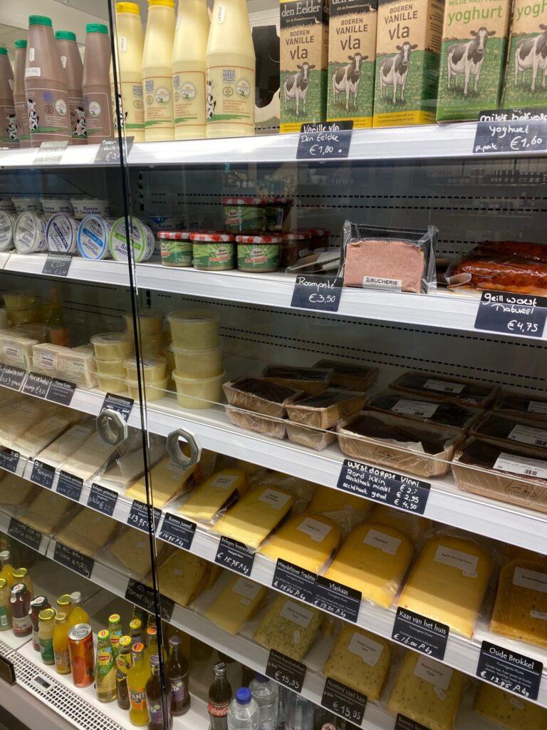 Lokale producten bij de Boerenwinkel bij Restaurant De Baeckermat - Tips in Zeeland