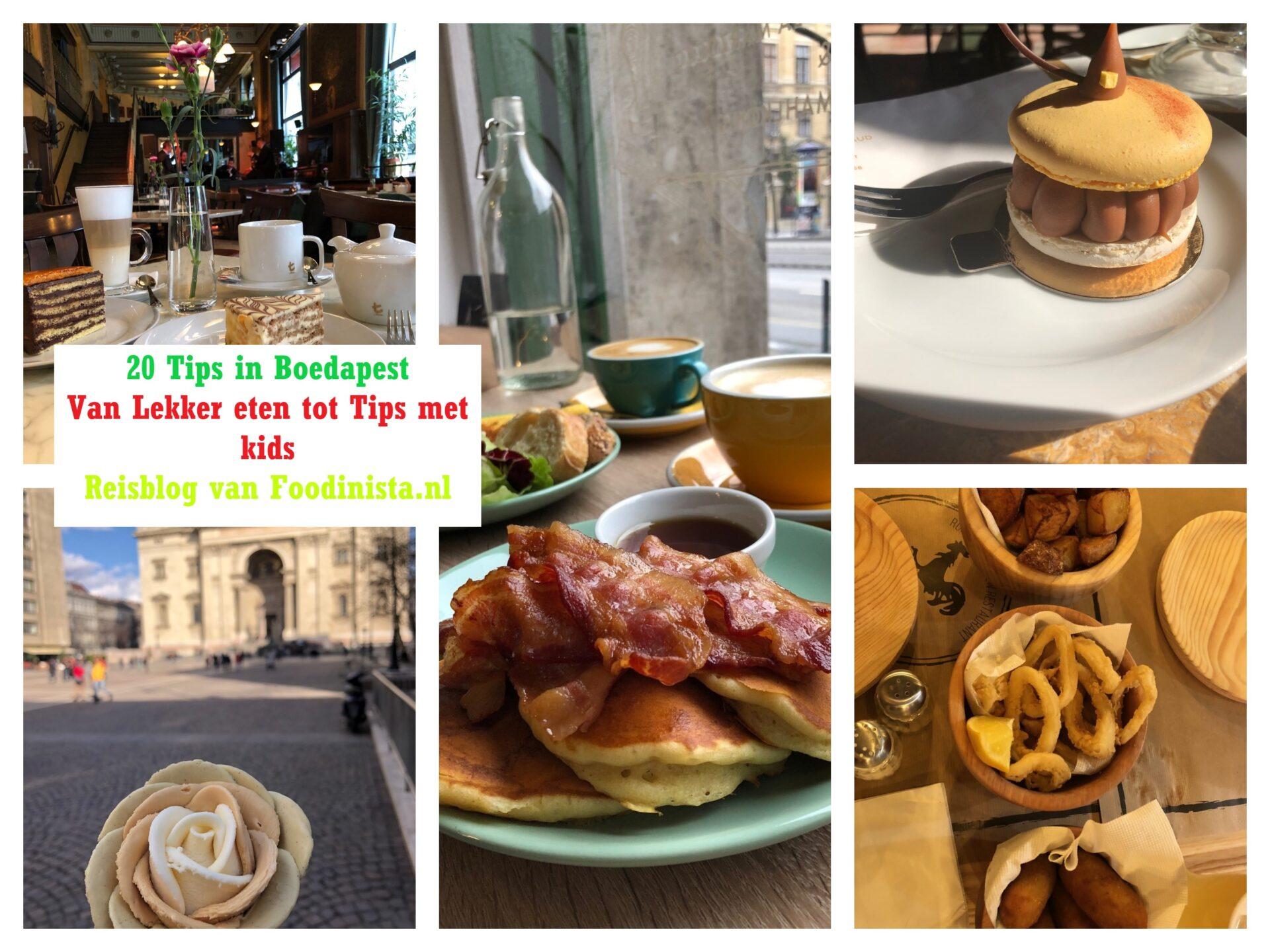 City Trip Boedapest: 20 tips van lekker eten en drinken tot Boedapest met kinderen