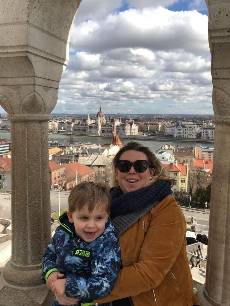 Uitzicht Boedapest Kasteeldistrict