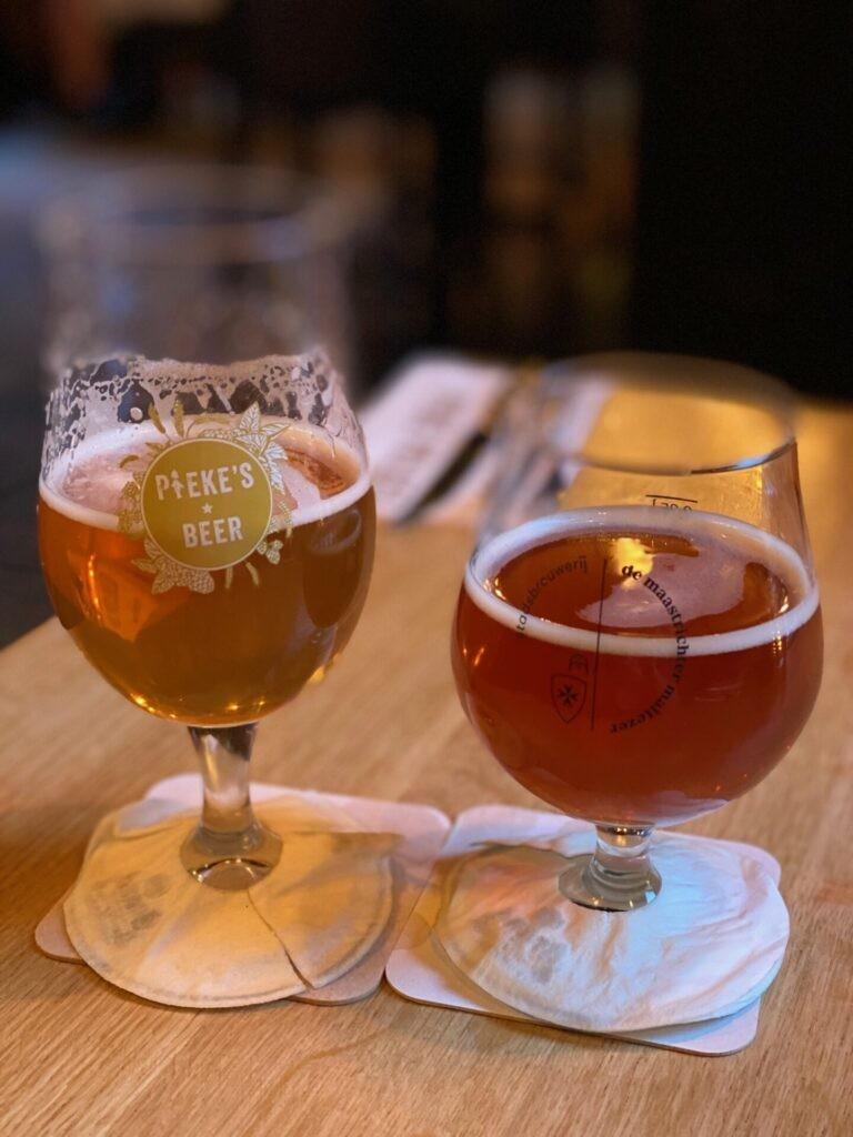 Biertjes bij Pieke Potloed in Maastricht