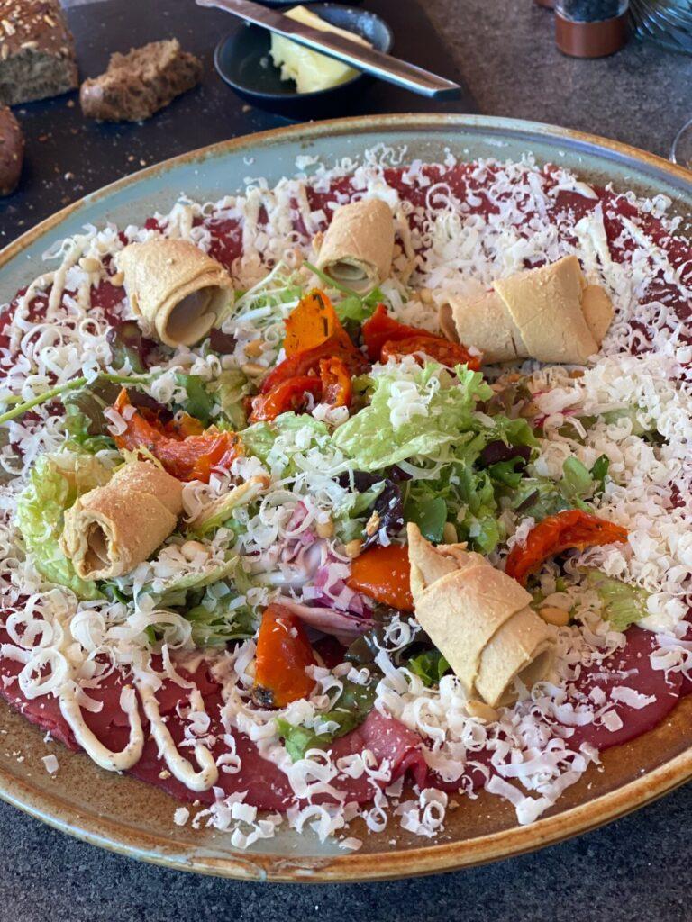 Carpaccio Salade bij De Molen in Kaatsheuvel - Verjaardagslunch