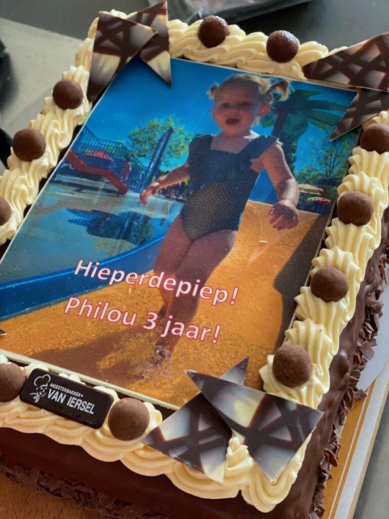 Philou 3 jaar - Peuter verjaardag vieren in corona tijd