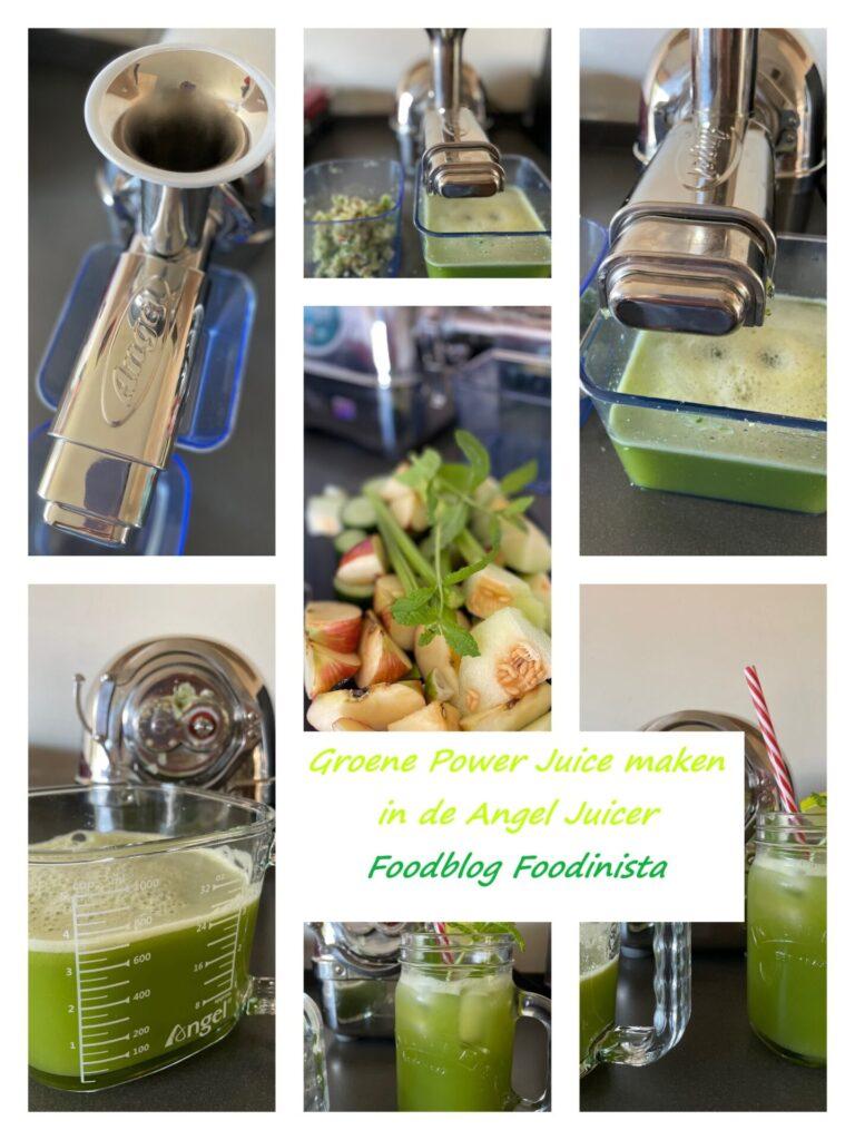 Green Juice maken met de Angel Juicer