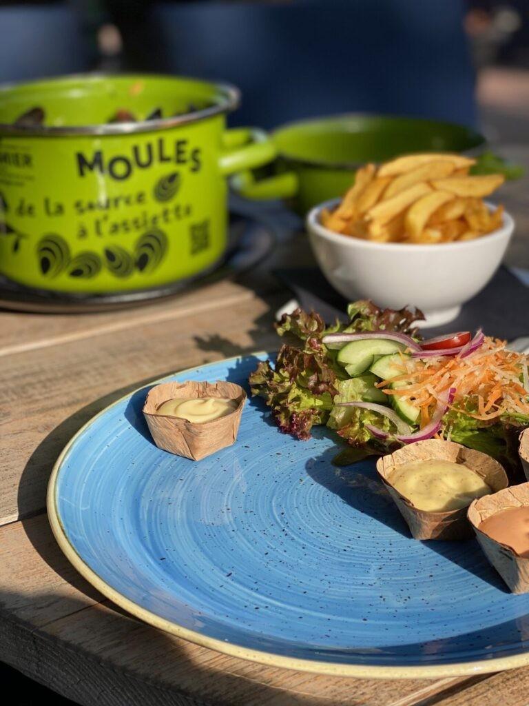 mosselen eten in Middelburg
