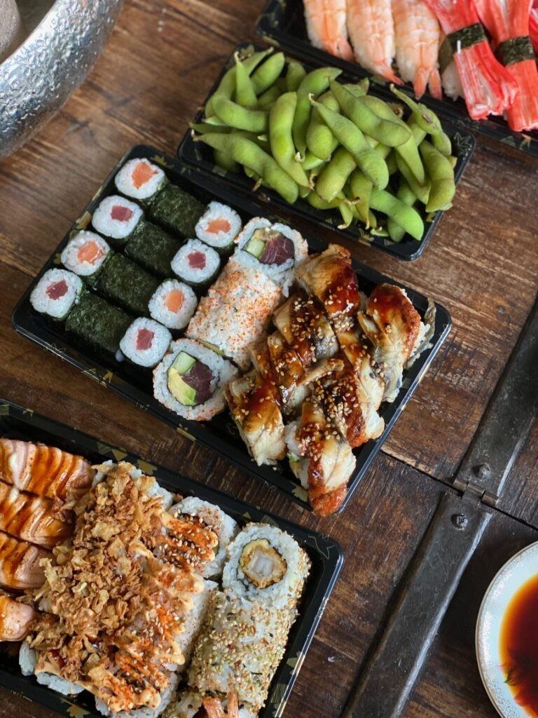 Sushi Night voor ons zelf